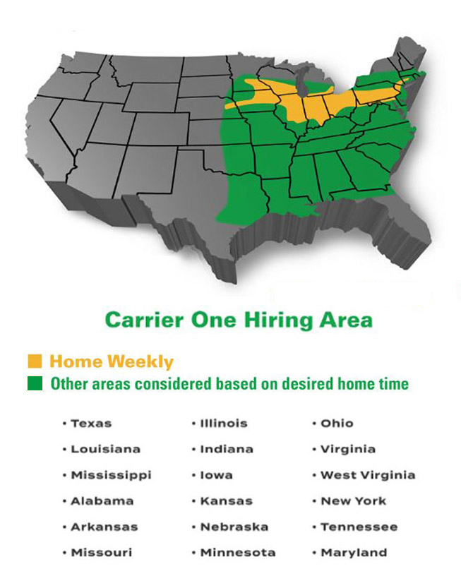 Carrier One Hiring Area